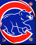 Chicago Cubs Logo Stretched Canvas Print