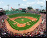 Fenway Park Stretched Canvas Print
