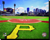 PNC Park Stretched Canvas Print