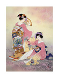 Hutari Mai Premium Giclee Print by Haruyo Morita