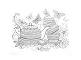 Tea Kettle5 Kunst von Neeti Goswami