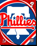 Philadelphia Phillies Logo Stretched Canvas Print