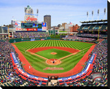 Progressive Field Stretched Canvas Print