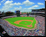 Turner Field Stretched Canvas Print
