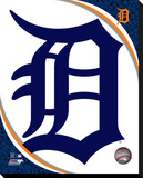 Detriot Tigers Logo Stretched Canvas Print