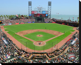 AT&T Park Stretched Canvas Print