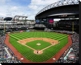 Safeco Field Stretched Canvas Print