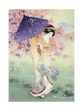 Yumezakura Premium Giclee Print by Haruyo Morita