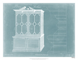Chippendale Library Bookcase I Giclee Print by Thomas Chippendale