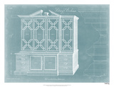Chippendale Library Bookcase II Giclee Print by Thomas Chippendale