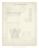 Greek & Roman Architecture IV Giclee Print by Thomas Kelly