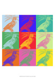 Parrot Party II Print by Jarman Fagalde