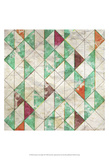 Geometric Color Shape VIII Print by Irena Orlov