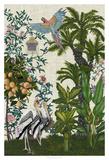 Paradis Chinoiserie II Giclee Print by Naomi McCavitt