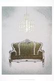 Metallic Foil Gilded Furniture III Prints by Grace Popp