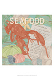 Fresh Seafood II Posters by Leslie Mark