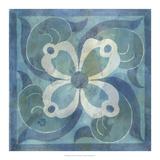 Patinaed Tile V Giclee Print by Naomi McCavitt