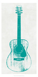 Guitar Collectior I Prints by Kevin Inge