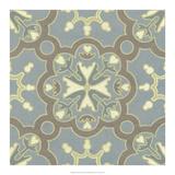 Pastel Tile Design VI Print by  Studio W