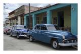 Cars of Cuba VIII Poster by Laura Denardo