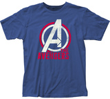 Avengers- Distressed Logo T-shirts