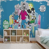 Disney Mickey Mouse - Football Friends Wallpaper Mural