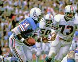 Earl Campbell 1978 Action Photo