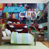 Disney Cars - Neon City Wallpaper Mural