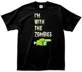 With the Zombies T-shirts