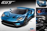 Ford Gt 2016 Plakaty