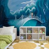 Disney Cinderella - Walk with Prince Charming - Duvar Resimleri