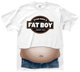 Ride a Fat Boy Beer Belly T-Shirt