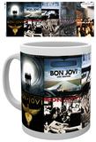 Bon Jovi - Albums Mug Taza