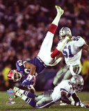 Andre Reed Super Bowl XXVII Action Photo