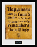 Harry Potter - Happiness Can Be Lámina de coleccionista