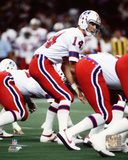 Steve Grogan 1980 Action Photo