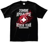 Zombie Apocalypse Rescue Team Member Shirts