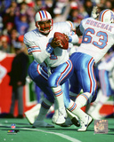 Warren Moon 1988 Action Photo