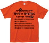 5 Reasons Halloween is Better Than Sex T-Shirt
