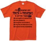 5 Reasons Halloween is Better Than Sex T-Shirt