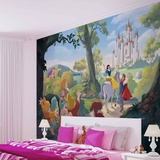 Disney Snow White - Castle - Duvar Resimleri