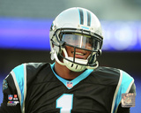 Cam Newton 2016 Action Photo