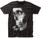 Evil Dead II- Dead by Dawn black and white poster T-shirts