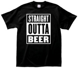 Straight Outta Beer T-shirts