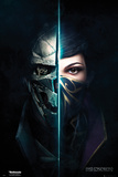 Dishonored 2- Faces Poster
