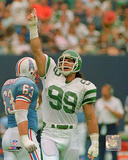 Mark Gastineau 1988 Action Photo
