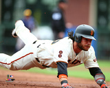 Brandon Crawford 2016 Action Photo