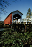 Currin Covered Bridge Photographic Print by Ike Leahy