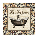 Leopard Bathtub Posters by Todd Williams