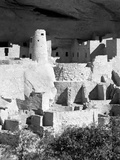Cliff Palace Pueblo Portrait BW Photographic Print by Douglas Taylor